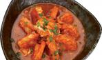 Креветки в томатном соусе