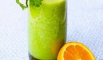 Тропический напиток с кинзой