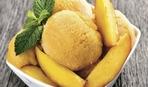 Сорбет из персиков и дыни