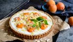 """Пирог с абрикосами и творожным кремом """"Оранжевое настроение"""""""