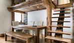 Элементы брашированной древесины в интерьере: 10 креативных идей