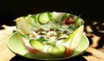 Летний хит - ледяная тарелка для окрошки: мастер-класс по изготовлению