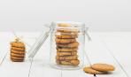 Овсяное печенье в микроволновке