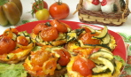 Когда гости на пороге: овощи-гриль, запеченные на адыгейском сыре