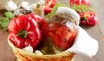 Маринованный болгарский перец с чесноком и горчицей
