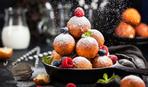 Сладкие творожные пончики с курагой - для завтрака чемпионов