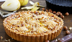 Грушево-горіховий пиріг
