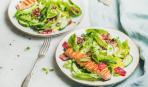 """Идея для выходных по-норвежски: семга гриль с салатом """"Халден"""""""