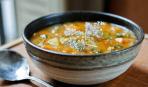 Суп с тыквой и зеленью
