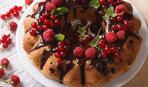 Как приготовить вкусный кекс с ягодами (видео)