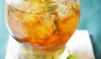 Холодный мятно-цитрусовый чай