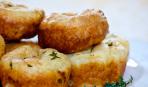 Чисто английский завтрак: поповеры с розмарином