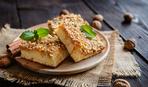 Песочное печенье с орехами на Ореховый Спас