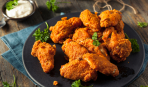 Хрустящие куриные крылышки, как в KFC