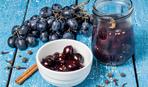 Отличная замена оливок - маринованный виноград