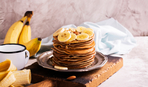 "Крутая идея для завтрака: панкейки ""Banana-mama"""