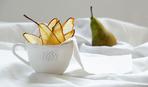 Грушеві чіпси з корицею: рецепт корисних снеків