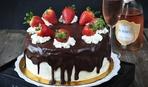 Современные десерты: шоколадный торт «Love Story»