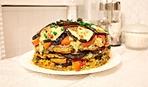 """Блюдо дня: закусочный торт из баклажанов """"Тещин язык"""""""