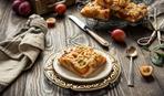 Очаровательно просто: печем заливной сливовый пирог
