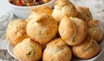 Бургундские заварные булочки Гужеры с зеленью
