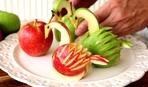 """""""Яблочный лебедь"""" - корзинка для эффектной подачи салатов (МК)"""