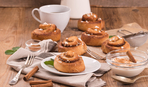 Сегодня именинница - булочка с корицей: классический рецепт