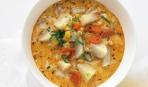 Пикантный суп с кукурузой