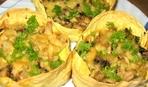 Блюдо дня: грибные запеканки в лаваше