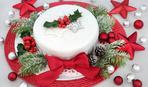 """Новогодний торт """"Клюковка"""": пошаговый рецепт"""