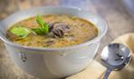 Грибной суп  с баклажанами: пошаговый рецепт