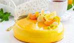 Торт «Апельсиновый шифон»
