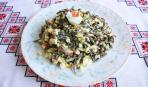 Крабовый салат с морской капустой - за считанные минуты