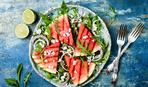 Салат с рукколой и арбузом гриль от Дмитрия Горовенко