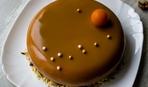 """Современные десерты: муссовый торт из тыквы """"Царица осени"""""""