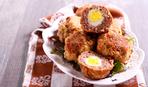 """Яйца по-английски в """"рубашке"""" из фарша: рецепт с фото"""