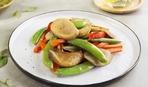 Грибной салат по-китайски с рисовым уксусом
