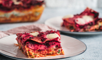 Пирог с сыром фета и свеклой от Валентины Хамайко