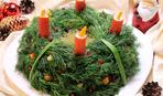 """Салат """"Новогодний венок"""": пошаговый рецепт"""