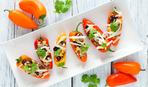Перці, фаршировані пікантною капустою: рецепт Руслана Сенічкіна
