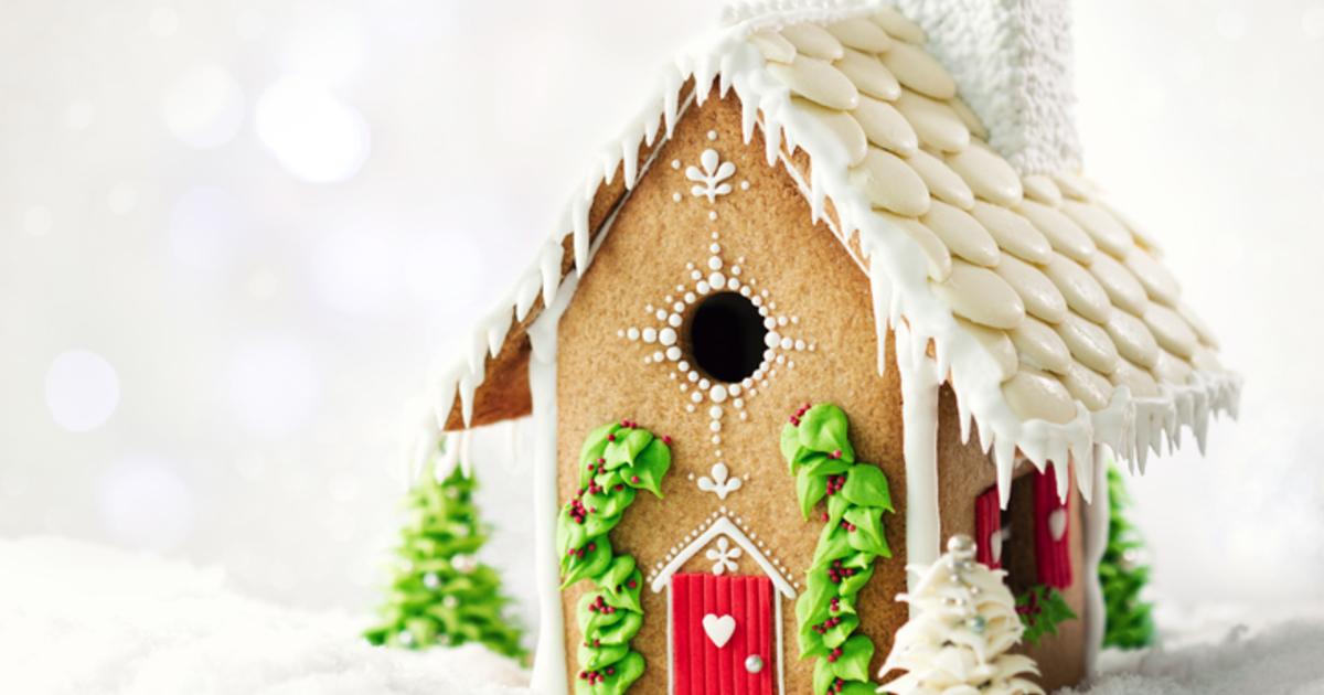 Февраля, картинки пряничные домики зимние
