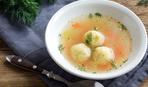 15 минут и готов: суп с сырными клецками