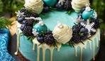 Новогодний торт: 10 оригинальных идей