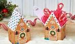 Как сделать подарочный домик для сладостей?
