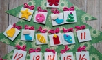 """Адвент-календарь для малышей """"Новогодние игрушки"""""""