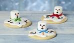 Сахарное печенье «Тающие снеговики»