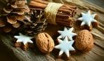 Новогоднее сахарное печенье
