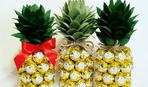 Подарок своими руками - ананас из шампанского и конфет (МК)