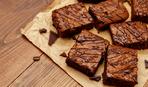 Топленный шоколадный пирог-брауни