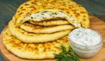Улетные лепешки - хичины с сыром и зеленью